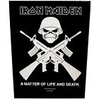 # IRON MAIDEN - SEW-ON BACKPATCH patch fear of the dark eddie final frontier