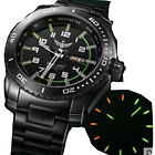 Men Kinetic Watch Tritium Light Automatic Energy Display Date Day Military