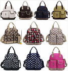 New pretty 5Pcs Baby Diaper Nappy Bag Backpack mummy bag backpack(BP016)B