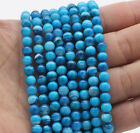 Wholesale AAA 4mm-12mm Blue Agate Gemstones Round Spacer Loose Beads 15""