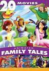 20 Movies, Animated Family Tales,(DVD) Brand New
