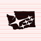 Subaru Style Image Washington State Sticker Decal WA Northwest NW PNW Pacific
