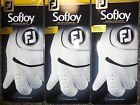 THREE (3) NEW 2016 FootJoy SofJoy Leather Golf Gloves, PICK A SIZE, #1 Glove
