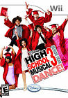 NINTENDO WII DISNEY GAME HIGH SCHOOL MUSICAL 3 DANCE SENIOR YEAR INTERACTIVE NIP