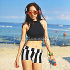 Korean Style Women Sexy Padded Top + Shorts Beach Bikini Set Swimsuit Swimwear