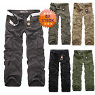 New Mens Cargo Pants Casual Pants Leisure Trousers Combat Trousers fers