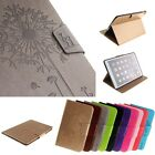 Dandelion printing Slim Slot Stand Leather Case Cover For all Apple iPad Moder