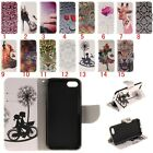 Card Flip Stand Magnetic Wallet Leather Bumper Case Cover For all iPhone Moder