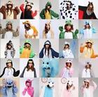 New Hot Unisex Adult Pajamas Kigurumi Cosplay Costume Animal Onesie