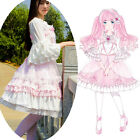 Ballet doll Cosplay Lolita Maid Outfit Costume JSK Dress Barbie Top Shirt Skirt