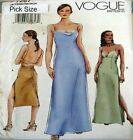 Vogue Sewing Pattern 7267 Ladies Laced Back Slip Dress Pick Size