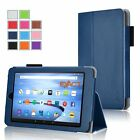 Exact Magnetic PU Leather Case Stand for Kindle Fire 7/HD 8/ HD 10(2015 Model)