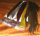 #1 GRIZZLY KEOUGH 1/2 SADDLE - Natural & Dyed options - beautiful dry fly tying