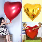 5 Love Heart Foil Helium Balloons Valentines Day Wedding Party Engagement Decor