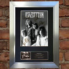 LED ZEPPELIN No2 Signed Mounted Autograph Photo Prints A4 512