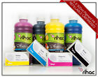 Refillable Cartridge Set + Rihac Pigment Inks for MB2360 Canon Maxify 1600XL