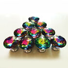 30mm Cabinet Knob Bling Colorful Crystal Modern Handle Door Drawer Pull Wardrobe