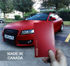 Vvivid 3MIL Matte Blood Red Vinyl Car Wrap film