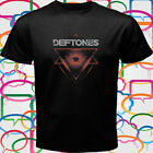 New DEFTONES TRIANGLE Rock Band Men's Black T-Shirt Size S to 3XL