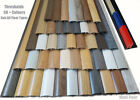 Made to Order Laminate Threshold Strips Any Colour Ajustable Height & Pivot 38mm