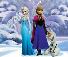 Frozens Olaf, Ann and Elsa Edible Icing Image Cake topper Decoration