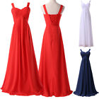 New Ladies Wedding DRESS Bridesmaid Ball Gown Cocktail Formal Evening Prom 6-18+