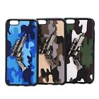 Camouflage PU protective cases cover for iPhone 6 Plus & 6s Plus smartphone