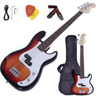 Electric Bass Guitar Including Strap, Guitar Case, Amp Cord and More US STOCK E1