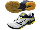 Mizuno JAPAN Badminton Shoes Wave Fang SS Speed Style WIDE 71GA15131 White Navy