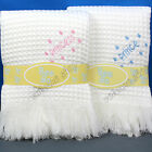 Prince / Princess Baby Boys Girls Shawl Wrap Blanket Pram Crib White BeeBo New