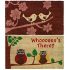 Birds Design Coir Outside Door Mat - PVC Backed . Choce of Pattern - 40 x 70 cm