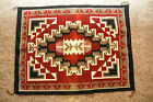 GENUINE GENADO RED NAVAJO RUG WEAVING 23 1 2 X 33 BY MADELINE BEGAY
