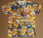 Despicable Me Minions All Over Print Sublimation Shirt S-2XL Officially Licensed