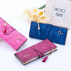 Girl Lady Women Faux Leather Clutch Wallet Long Card Holder Case Purse Hand bag