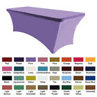 (30+ colors)AbcCanopy Tablecloth 6 ft. Fitted Polyester Tablecloth Stretch Spand
