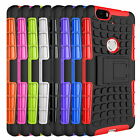 Hybrid Hard Armor Case + Shockproof Stand Cover For Google Huawei Nexus 6P 2015