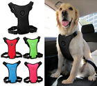 Soft Air Mesh Dog Car Harness Puppy Pet Vehicle Seat Belt Vest for Dogs S M L