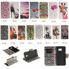 Wallet Card Leather Holder Case Stand Cover For Iphone Sony Series Phone TX