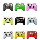 1pc Silicone Rubber Gel Controller Skin Protective Cover For Microsoft Xbox 360