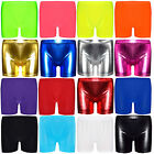 Girls Kids New Stretch Cycling PE School Dance Gym Swim Shorts Hot Pants 5-11