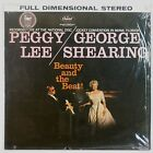 PEGGY LEE & GEORGE SHEARING: Beauty and the Beat! FRANCE '83 Jazz LP NM-