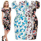 Neuf Coming Retro Femme au foyer Robe Vintage Swing 50s 60s Pinup Rock and Roll