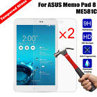 2Pcs 9H Hardness Thin Tempered Glass Film Screen Protector For ASUS Pad/Tablet