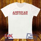 AMERICAN HEAD CHARGE HEAVY METAL ROCK BAND MUSIC DESIGNER 3 WHITE T SHIRT 505