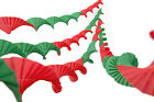 4 SUPERIOR THICKER CREPE PAPER RETRO VINTAGE STYLE CHRISTMAS GARLANDS  R&G
