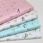 50cm*160CM Flower 100%cotton fabric Quilting Quilt Clothes Bedding Sewing DIY26