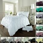 Alford Pintucks Luxurious Duvet Covers Quilt Covers Bedding Sets All Sizes image