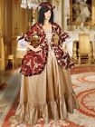 Renaissance Baroque Costume Medieval Dress Gown Gothic Fantasy Clothing
