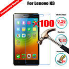 100Pcs 9H Wholesale Premium Tempered Glass Screen Protector For Lenovo Phone