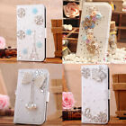 3D Bling Diamond Flip Wallet Leather Case Cover for iPhone 7/7Plus